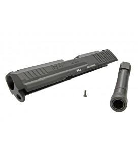RA Marui HK.45 CNC Steel Slide & CNC Steel Outer barrel 14MM CCW BC