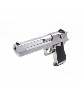 Cybergun WE Desert Eagle Gas GBB Airsoft Pistol ( Silver ) ( Asia Market Edition )