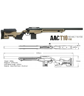 Action Army AAC T-10 FDE