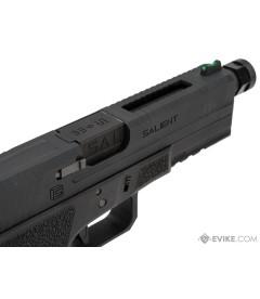 EMG Salient Arms International SAI BLU Model 17 GBB Airsoft Training Weapon  ( Green Gas Type ) ( Black )