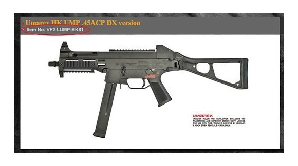 Umarex (VFC) HK UMP .45ACP GBB 2018 Version