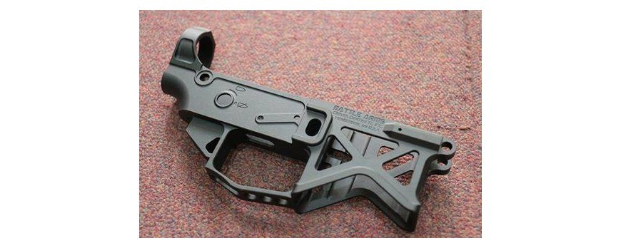 Battle Arms Skeleton Lower By Dynamic Airsoft